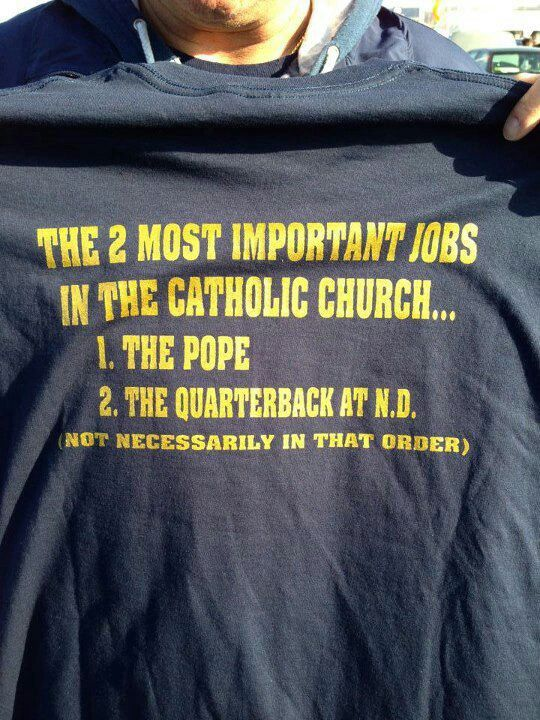 The 2 most important jobs in the Catholic Church...
