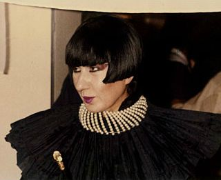 Anna Piaggi, fashion journalist and muse to designers and milliners such as Karl Lagerfeld and Stephen Jones, died yes...