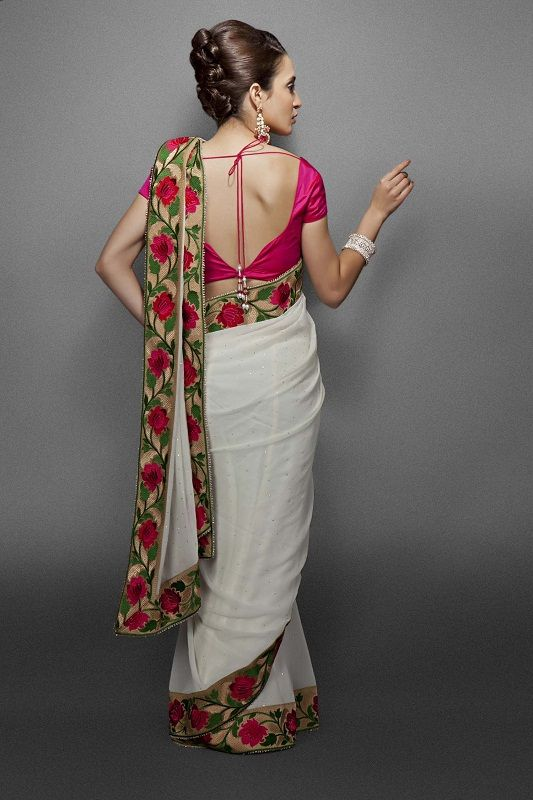 1000 Images About Red And White Bengali Saree On