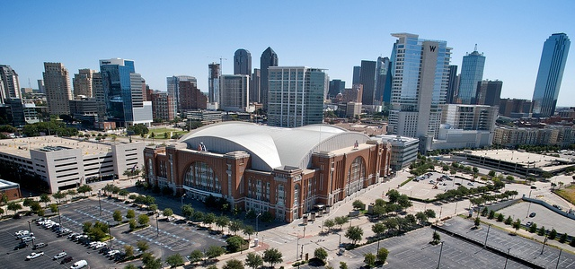 American Airlines Center - home of the NBA Champion Dallas Mavericks