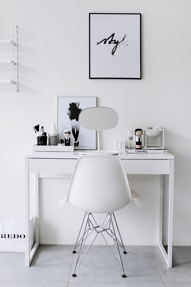 These vanities scream sleek, Scandinavian style. If you're into the minimal vibe, look no further for theultimate makeup storage goals.  Image via Nordic Days  Follow this blog on...