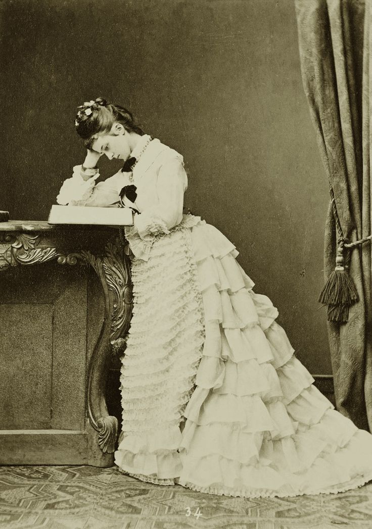 carolathhabsburg:  Maria Jose, duchess in Bayern and Infanta of Portugal. 1870s.