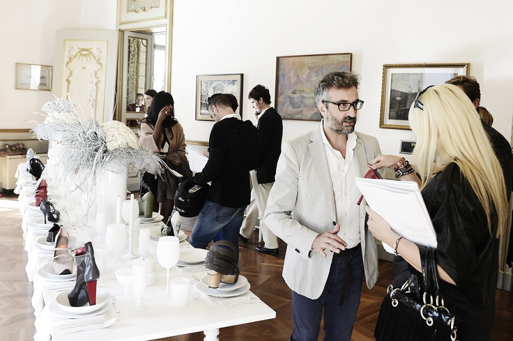 Many journalists enjoyed WHAT'S MORE ALIVE THAN YOU.   Pic taken at Press Open Day. #MilanFashionWeek #SS13