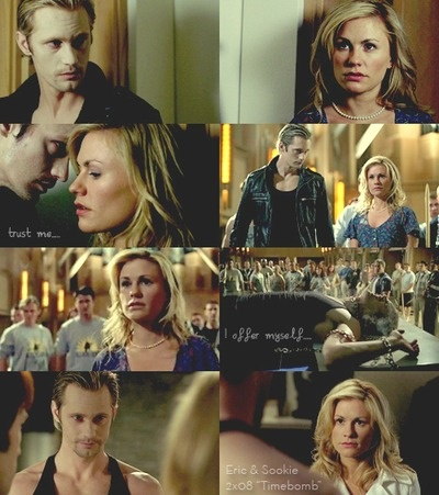 True Blood season 2 - Sookie and Eric in one of my favorite episodes! At the Fellowship of the Sun.