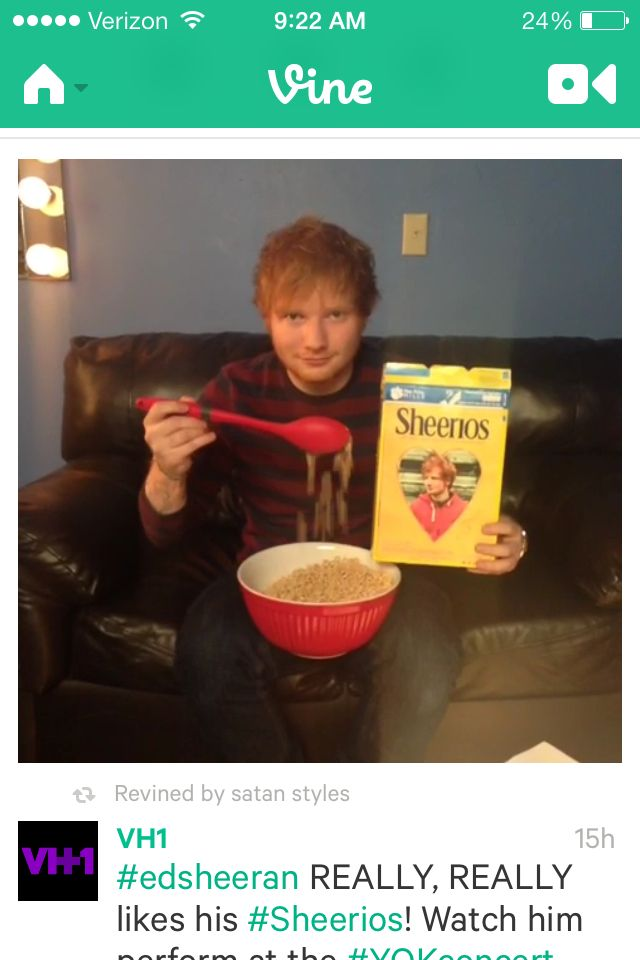 SHEERIOS (a fanbase that is awesome!!!!!)
