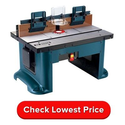 Best Router table 2017. .Bosch RA1181 is Best Buy. Find our Router table reviews, comparison charts and buying guides to help you buy the right and best router