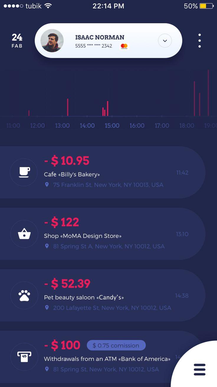 1 home budget default screen tubik