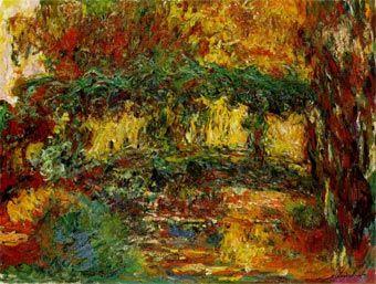 El Puente japones de Claude Monet