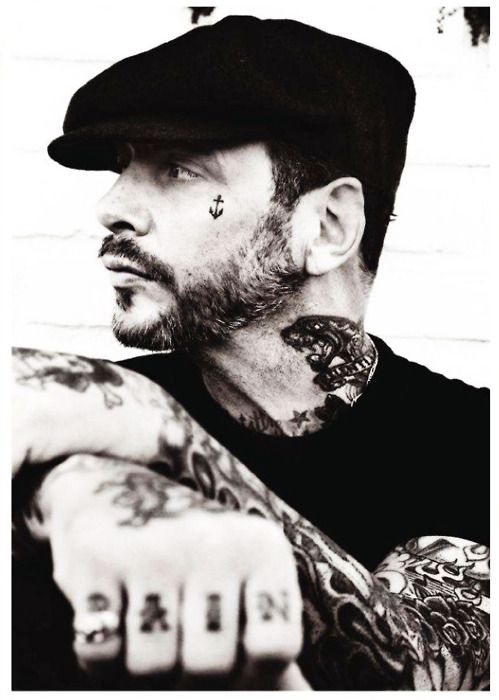 tattoo, anchor.. mike ness social D greatest band of all time