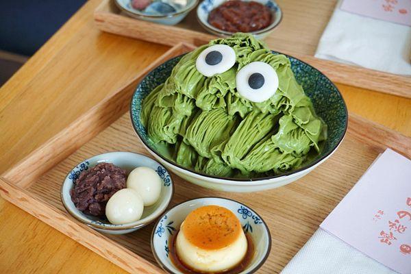 Taiwanese shaved ice dessert