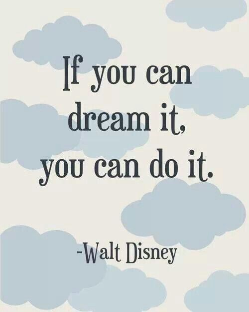 Disney - dream it, do it