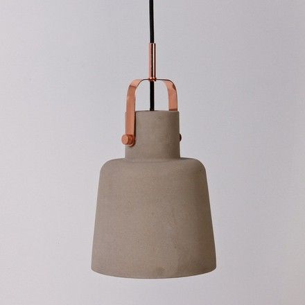 Concrete pendant - copper from Granite Lane - The Third Row