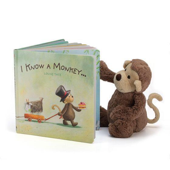 Jellycat Storybook - I Know A Monkey