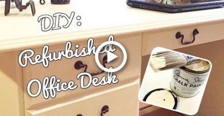 DIY: Renovierter Schreibtisch