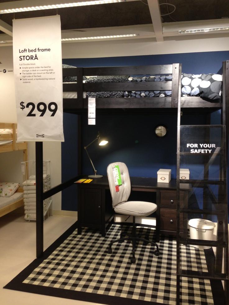 Full Size Loft Beds With Desk Ikea