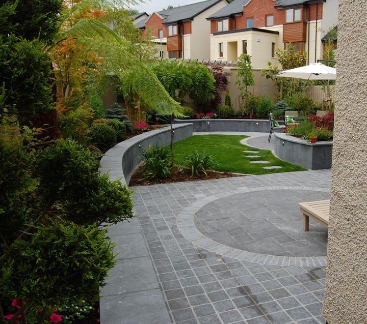 Commercial Property Landscape Design: Garden Design Ideas - Small Rear Garden