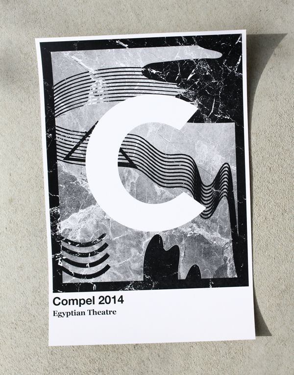 Compel / local event 2014  graphic design/concept by jeremiah hagler