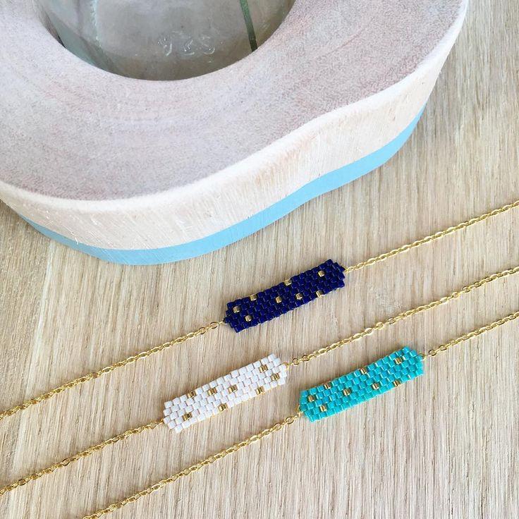 Du bleu à la chaîne #pluscestsimpleplusjaime #jenfiledesperlesetjassume #perlezmoidamour #perlezmoi