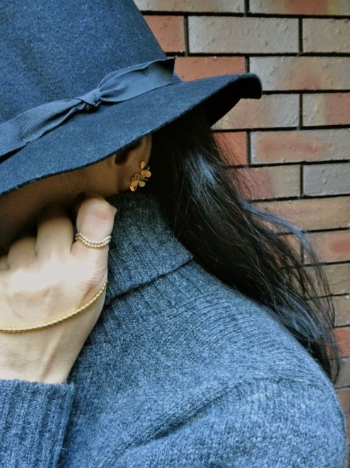 Gorgeous blogger Yasuko wearing our Clover and Luck collections.