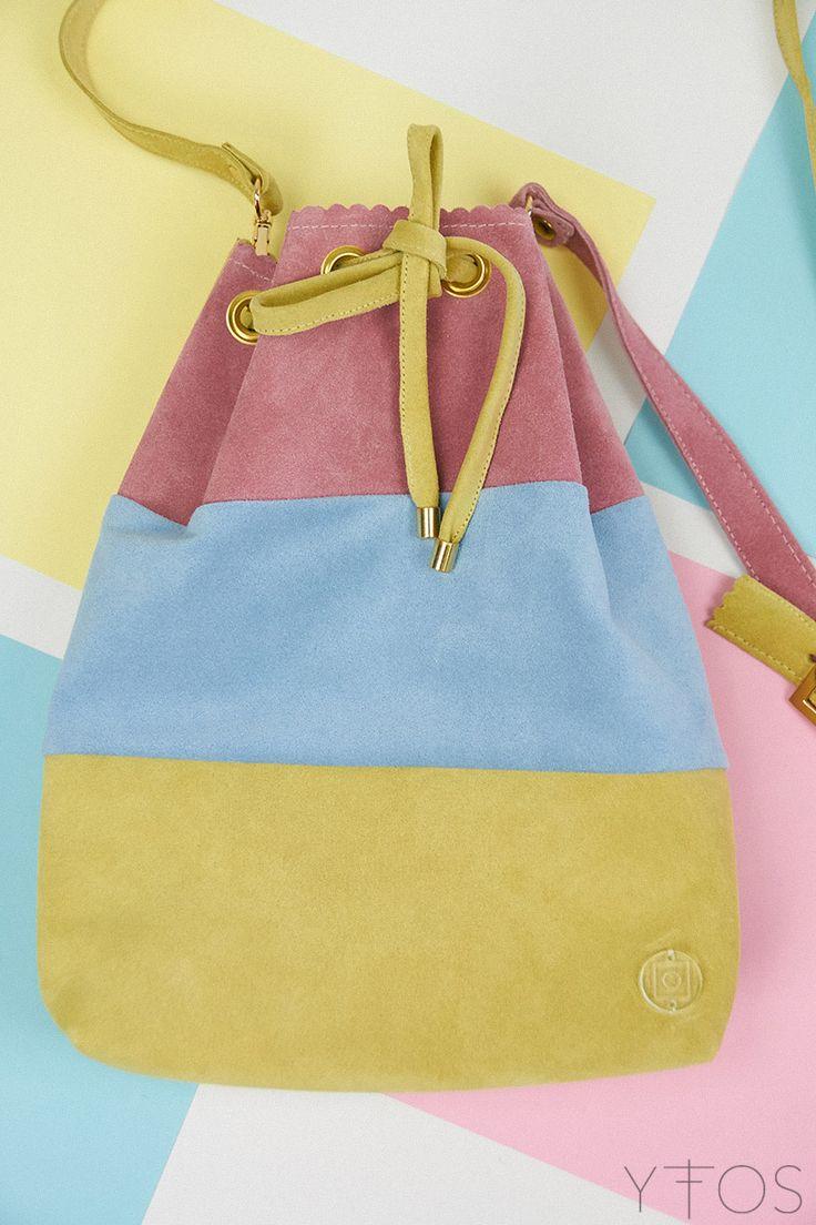 Yfos Online Shop | Accessories | Bags | Bubblegum Mini Bucket Bag by Clic Jewels