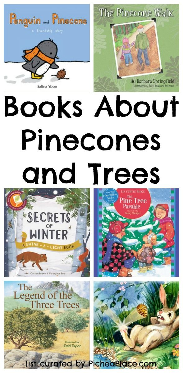 Books About Pinecones and Pine Trees