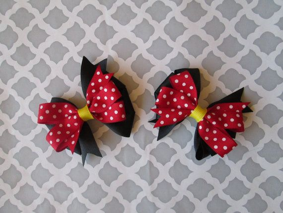 Hey, I found this really awesome Etsy listing at https://www.etsy.com/listing/248730528/set-of-two-mickey-and-minnie-mouse