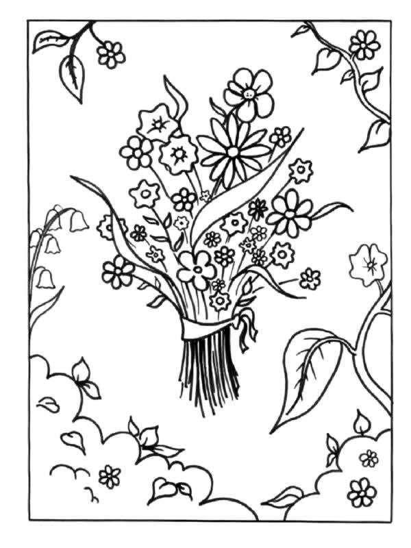 17 migliori idee su disegni di fiori su pinterest for Fiori facili da disegnare