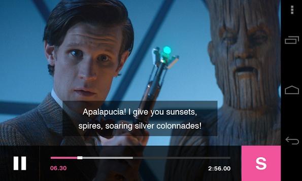 BBC iPlayer Captions
