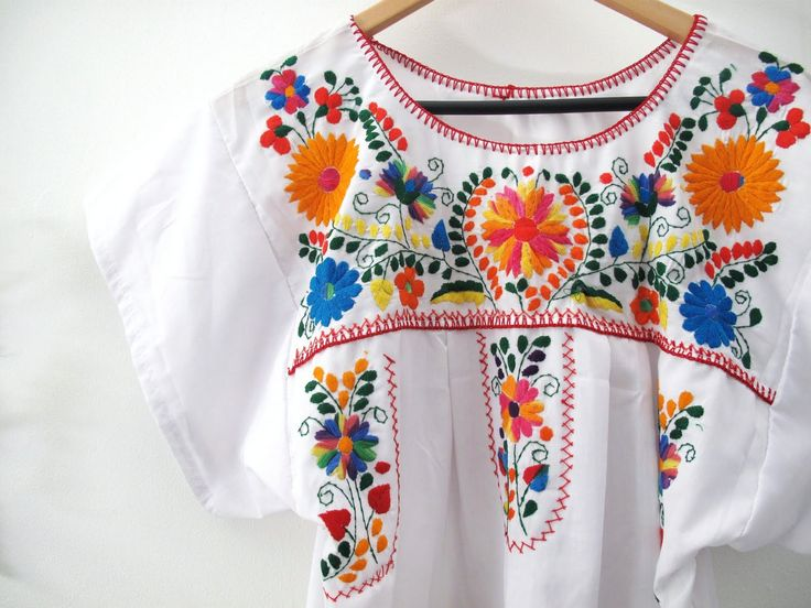 15 best Mexican inspired embroidery images on Pinterest ...