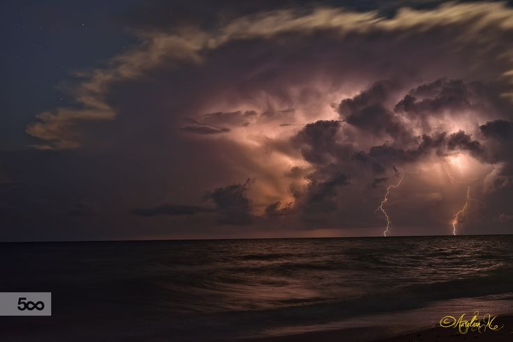 Storm on sea by Aurelian Nedelcu on 500px