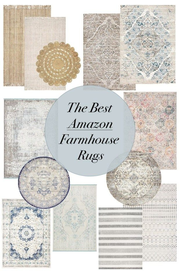 The Best Farmhouse Rugs On Amazon Tips For Finding The Perfect Rug For You My Rustic Retreat Farmhouse Rugs Farmhouse Area Rugs Rugs In Living Room