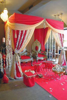 Свадебный шатер в индийском стиле