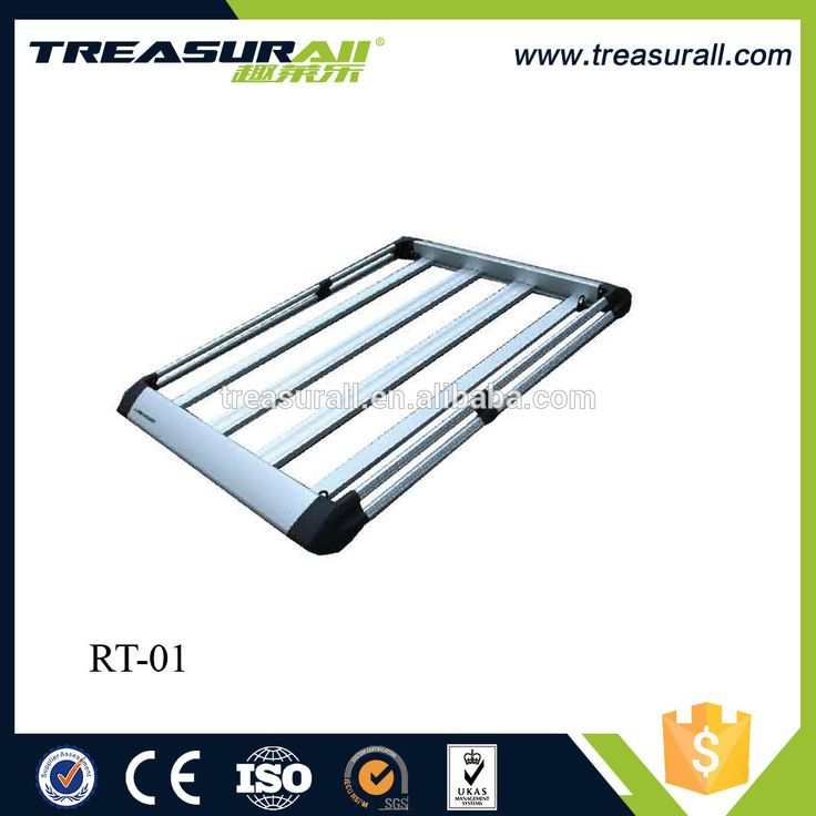 ALUMINIUM CAR 4WD ROOF RACK/ BASKET LUGGAGE CARGO CARRIER BOX WITH ROOF RACK