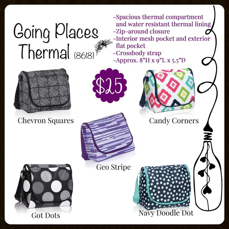 Going Places Thermal, Thirty-One, Fall 2017