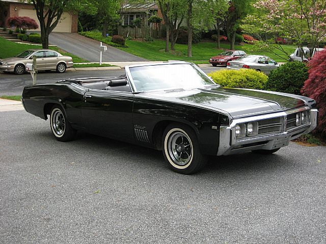 Great 1969 Buick Wildcat Convertible For Sale In Reading, Pennsylvania, Black,  Black, 430