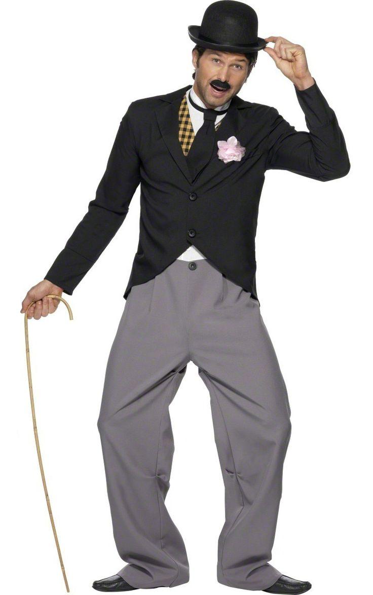 """Envie de vous la jouer """"The Artist"""" et de récupérer un oscar ? Essayez ce déguisement Charlie Chaplin !"""