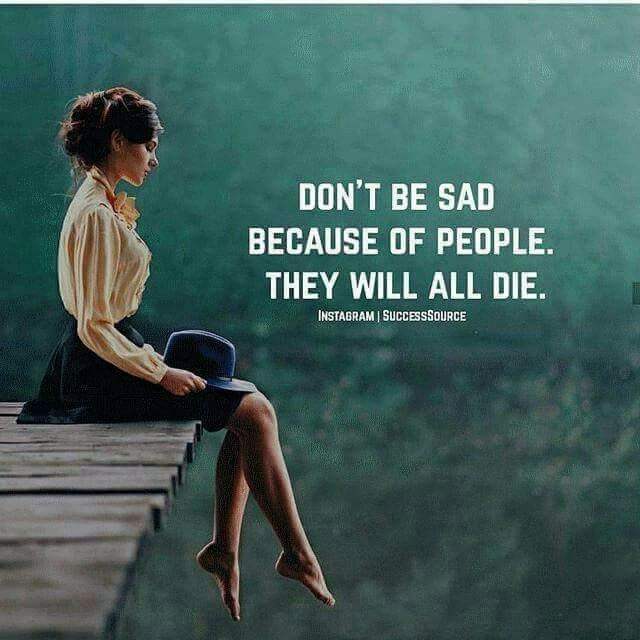 Yeah they will all die