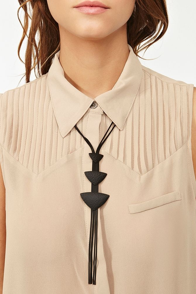 Tribal Bolo Necklace in Accessories Jewelry Necklaces at Nasty Gal