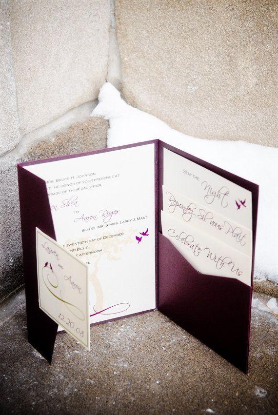 Set of 100 Love Bird Elegant Swirl Wedding by WoodlarkDesigns, $500.00