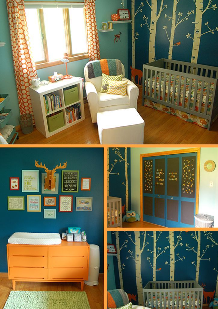Coles-Nursery-Hawks-Blog: The details in this nursery are amazing.