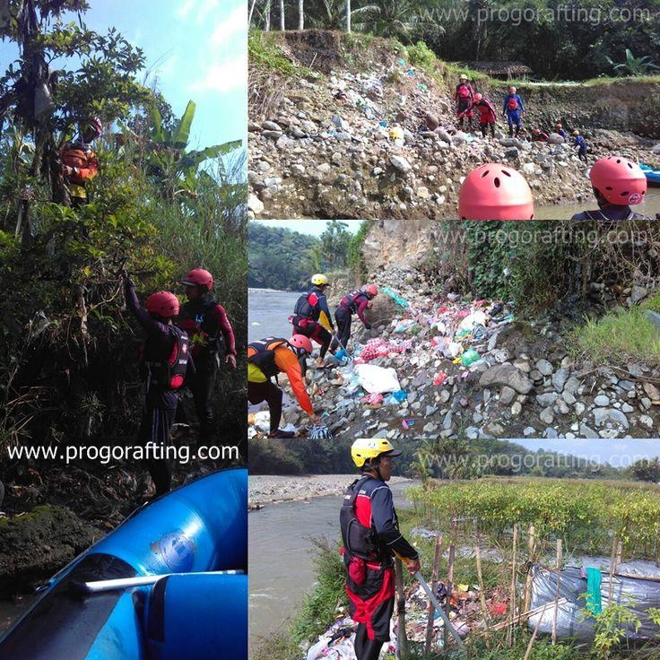 Today's Goal : Bersih-bersih sampah di pinggiran Sungai Progo Magelang. Semua river guide @progorafting ikut ambil bagian.. Tim management juga sudah berkoordinasi dengan Badan Lingkungan Hidup (BLH) Kabupaten Magelang agar segera menindaklajuti masyarakat yang masih kurang paham dengan pengelolaan sampah.  Kami juga berterimakasih kepada Sobat Progo , kak @aldianto888 atas kritik dan sarannya 😊 Sehingga kami menjadi lebih baik lagi untuk kedepannya. 😇  Terimakasih juga untuk kak…