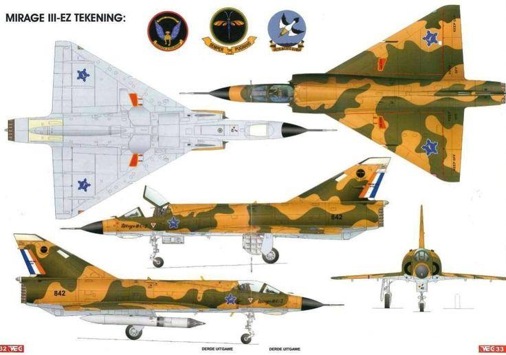 SAAF Mirage III EZ