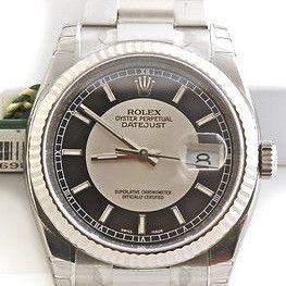 Rolex 116234 Silver and Gold Watch