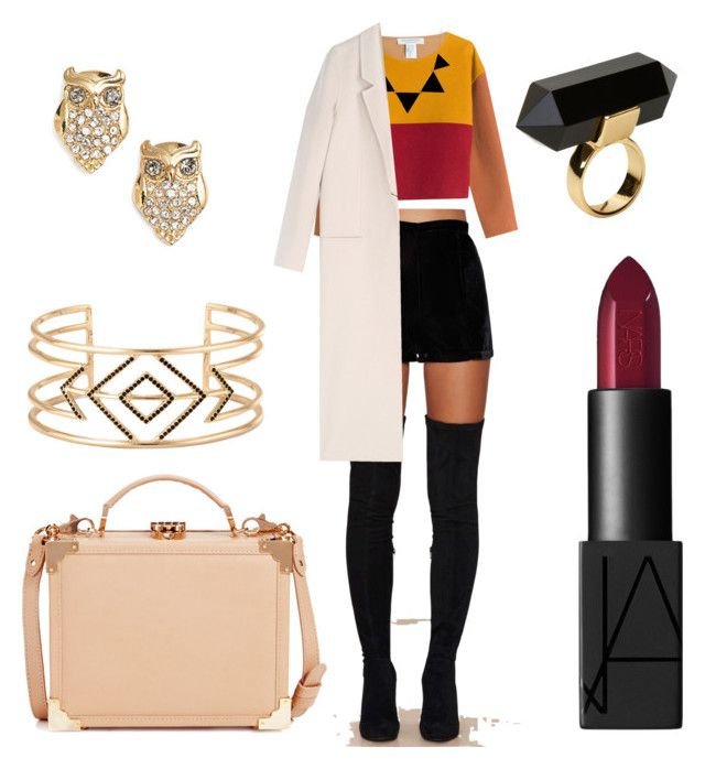 Classy formal by radmany on Polyvore featuring polyvore, fashion, style, Philosophy di Lorenzo Serafini, Acne Studios, Native Rose, Aspinal of London, Monki, Stella & Dot, Kate Spade and NARS Cosmetics
