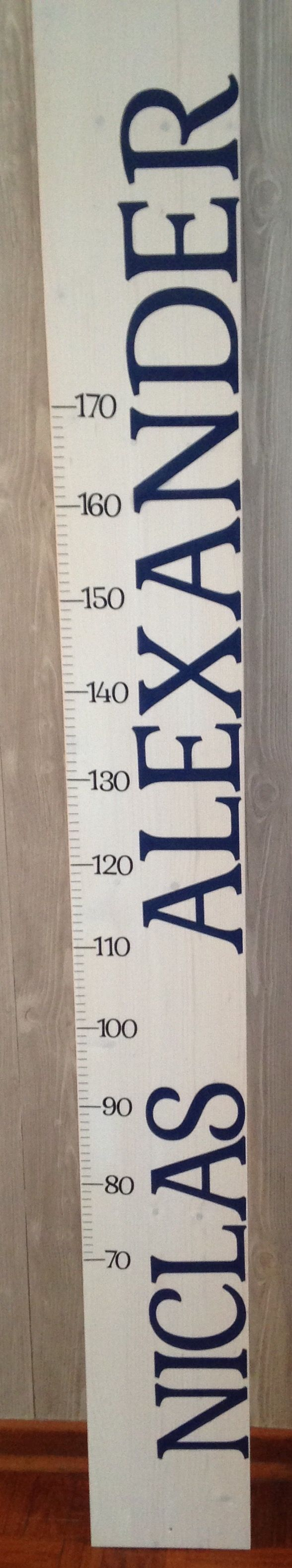 larissaswelt kindermesslatte Oktober 2015  NICLAS ALEXANDER 180cm Desig 3 Farbe: dunkelblau