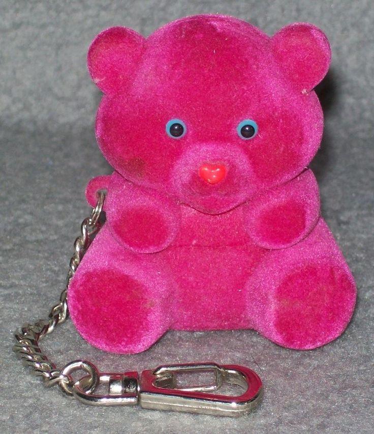 Coccolotti Schmuckkästchen Giochi Preziosi Bär Pink 80er 90er Jahre Vintage in Spielzeug, Sonstige | eBay