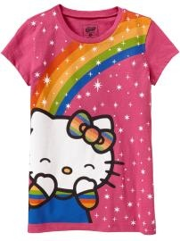Cute Hello Kitty shirt for my mini-me from Old Navy!