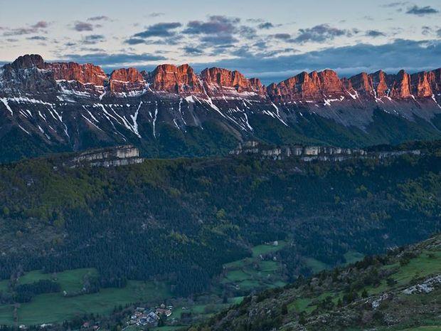 Les Alpes près de Grenoble