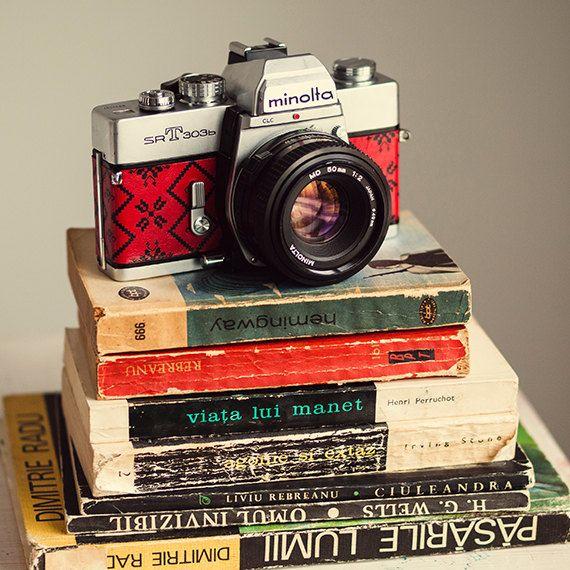 Minolta SRT303b functional vintage 35mm film SLR by FolkCamera
