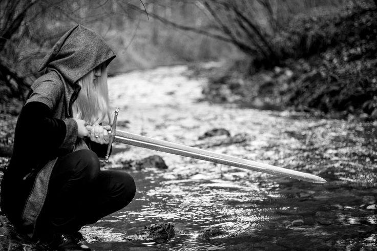 confession by Mithrandiir on deviantART #sword #warrior